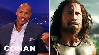 "Dwayne Johnson Blacked Out Filming ""Hercules"""
