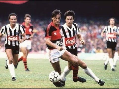 Leandro atuando como zagueiro pelo Flamengo - YouTube