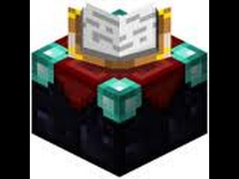 Comment crafter une table d 39 enchantement dans minecraft tuto 3 youtube - Table d alchimie minecraft ...