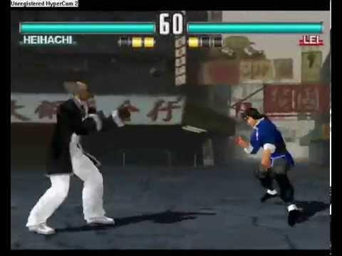 Tekken 3 Online K Heihachi Jin Vs Lesiu Lei Part 1 Youtube