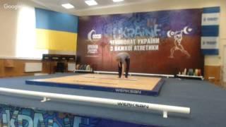 Чемпіонат України з важкої атлетики до 13 та до 15 років. В/к до 62. 69, 77 кг (хлопці до 15 років)