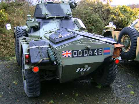 British Army armoured cars - Ferret and Pig