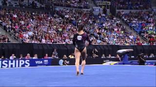 Jordyn Wieber - Floor -  2012 Visa Championships - Women - Day 1