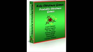 Kids Christmas Activities And Games Review