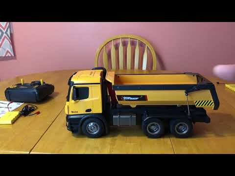 top-race-tr-212(1573)-dump-truck--unboxing-&-first-impressions--rc-cincy