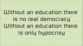 Uneducated Democracy - Serj Tankian lyrics
