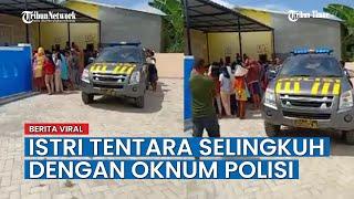 Video Viral di Makassar, <b>Istri</b> Tentara Kepergok Selingkuh dengan ...