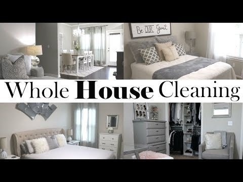 WHOLE HOUSE CLEANING | CLEAN WITH ME | ENTIRE HOME CLEANING