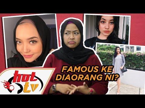 Adik artis Malaysia terlebih FAMOUS! #HotScoop