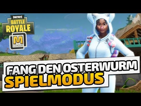 """Fang den Osterwurm"" Spielmodus - ♠ Fortnite Battle Royale: Custom Games - Majin League ♠ - German"