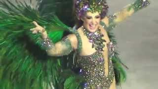 Claudia Raia  estrela da Beija Flor