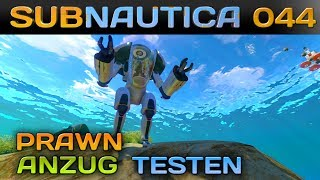 🌊 SUBNAUTICA [044] [Prawn Anzug testen] Let's Play Gameplay Deutsch German thumbnail