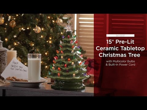 The Best Ceramic Christmas Trees A Symbol Of Happiness Celebration