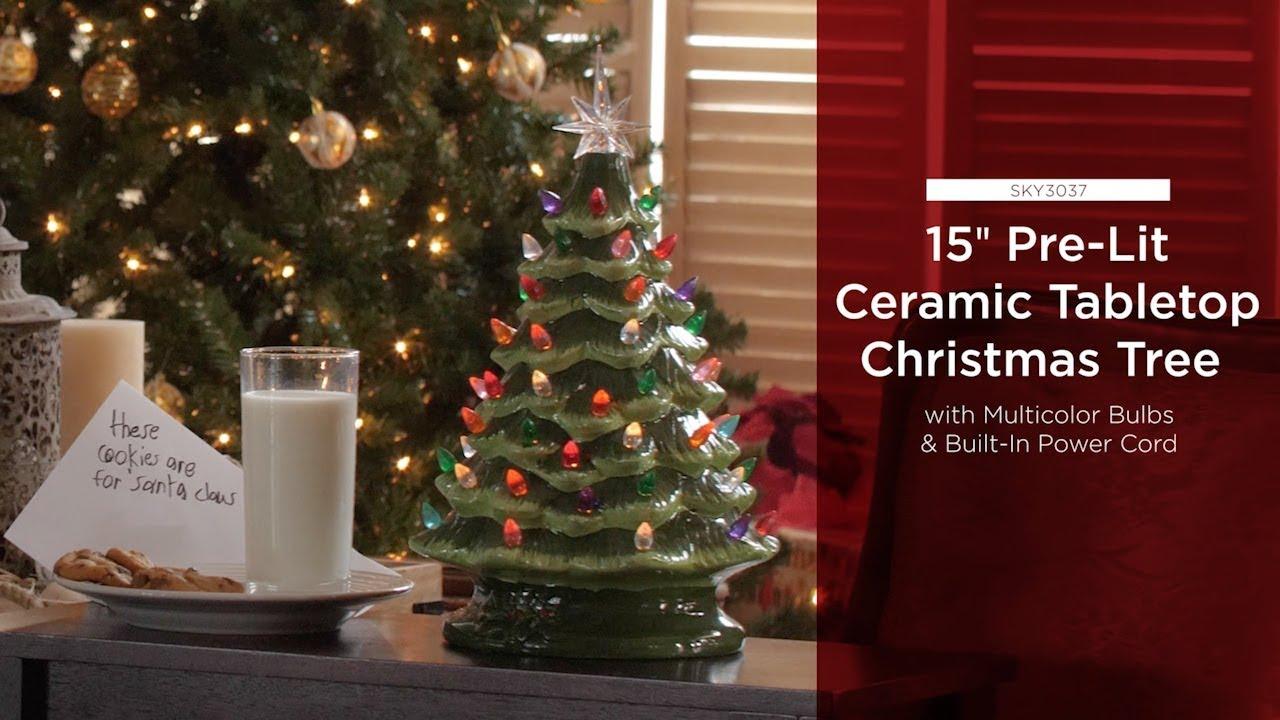 Sky3037 Sky4349 Ceramic Tabletop Christmas Tree