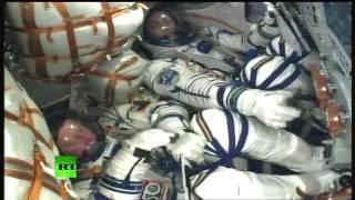 La fusée Soyouz quitte Baïkonour pour permettre aux cosmonautes de gagner l'ISS (Direct du 17.11)