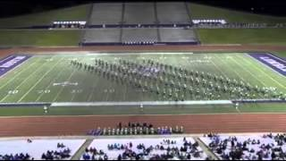 Longview High School Band UIL Marching Contest 2015