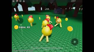 ROBLOX CHICKEN ARMY!!!