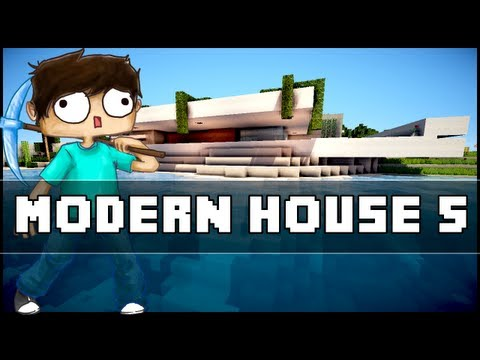 Minecraft inspiration w keralis modern cafe doovi for Keralis modern house 9 part 1