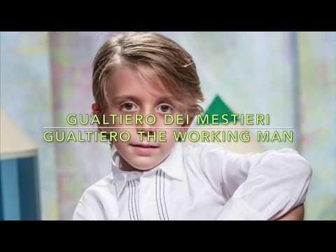 Gualtiero dei Mestieri | Gualtiero the working man (lyrics & translate)