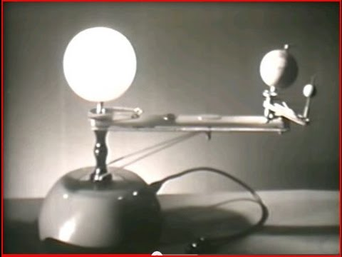 The Earth, Moon, and Sun System with Orrery