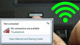 Không Bắt Được Wifi TRÊN LAPTOP #KHÔNG THẤY WIFI #BẮT WIFI KHÔNG ĐƯỢC