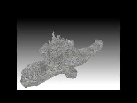 3D Shaft of Paardekraal Mine by 3D MSI