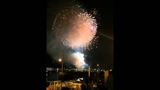 広島県尾道市の花火大会です。