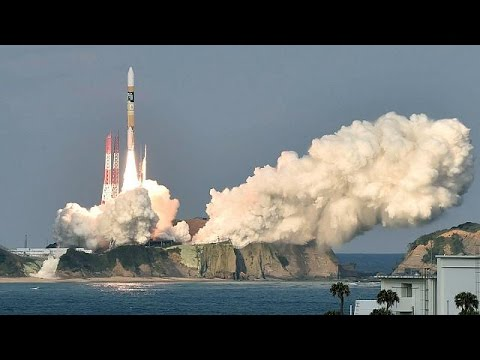 Japan launches new weather satellite with manga cartoons - world