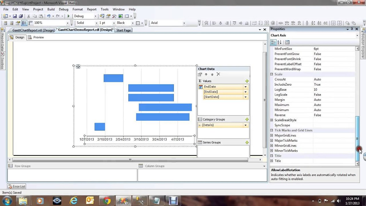 how to create dashboard reports in ssrs 2008