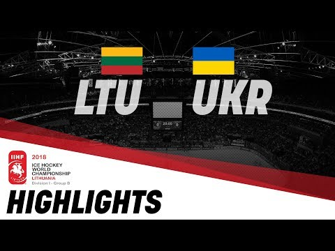 Lithuania - Ukraine | Highlights | 2018 IIHF Ice Hockey World Championship Division I Group B