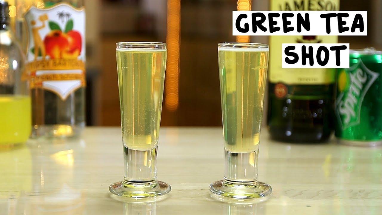 Green Tea Shot Tipsy Bartender