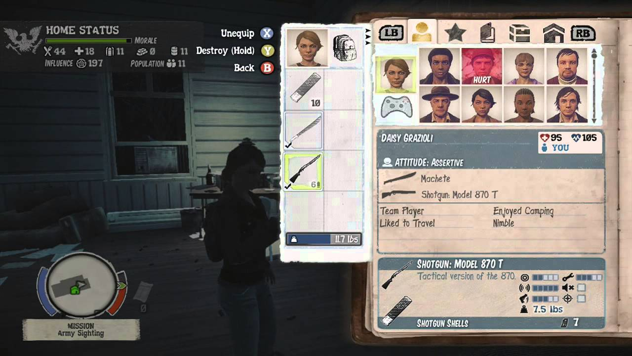 state of decay how to add mod guns