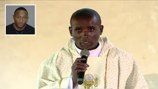 FATHER MARTIN WANYOIKE SPEECH AT SENATOR IRUNGU KANG'ATA & WAMBUI WEDDING
