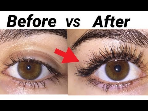 My Eyelash Routine (how to get insanley long lashes) GRWM