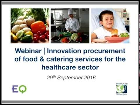 Webinar | Innovation procurement of food & catering services
