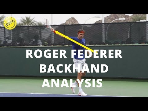 Roger Federer Backhand Analysis