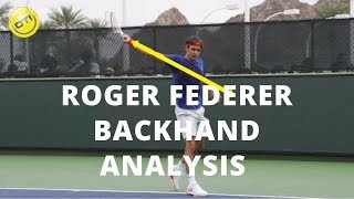 Roger Federer Backhand Analysis