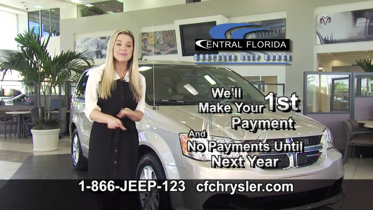 central florida chrysler jeep dodge ram no payments until 2014 weekends only in september youtube. Black Bedroom Furniture Sets. Home Design Ideas