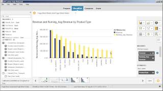 sort rank calculate and filter values in a visualization sap lumira 1 12
