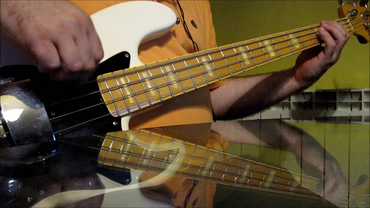 Cyndi Lauper - Girls Just Want To Have Fun Bass Cover