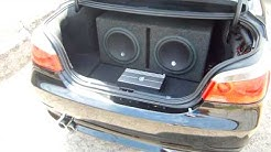 Memphis Car Audio subwoofer/monoblock