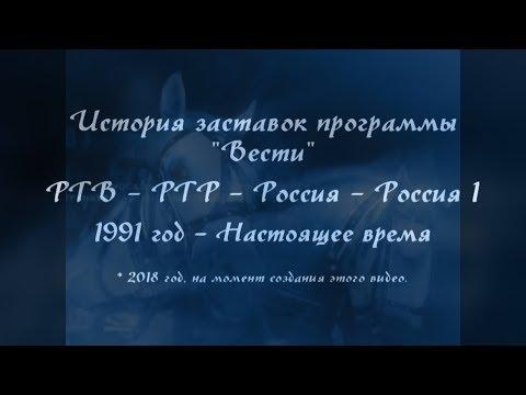 История заставок программы \