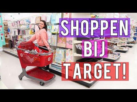 TARGET SHOPPEN ❤ Shop met mij mee! | Beautygloss