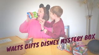 Walts Gifts | Disney Mystery Box Unboxing | Star Wars, Cars, Princesses, Marvel, Mickey & Friends