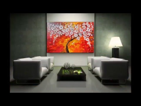 Original handmade acrylic paintings on canvas by Areti.A