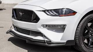 homepage tile video photo for 2018-2019 Ford Mustang GT Front Splitter | Street Scene