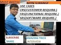 USE CASES, REQUIREMENT ANALYSIS, SYSTEM STUDY, SOFTWARE TEST LIFE CYCLE, SOFTWARE DEVELOPMENT LIFE C