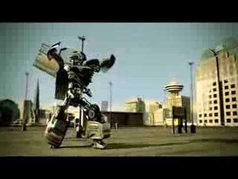 Citroen Robot Dance