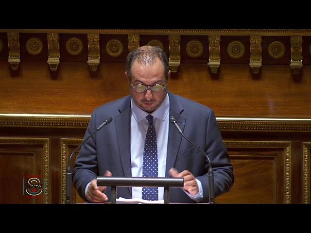 Franck MENONVILLE : PJL Adaptation au droit de l'UE en matière économique et financière