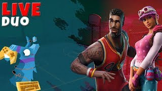 FORTNITE ROMANIA! Evening duo Arena with Adi! CodeShop: C3drykk99-YT! ^.^ ! #142